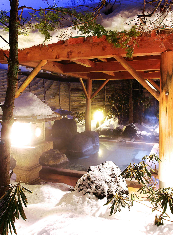 Hotel boun snowy open air bath selected onsen ryokan - Ryokan tokyo with private bathroom ...