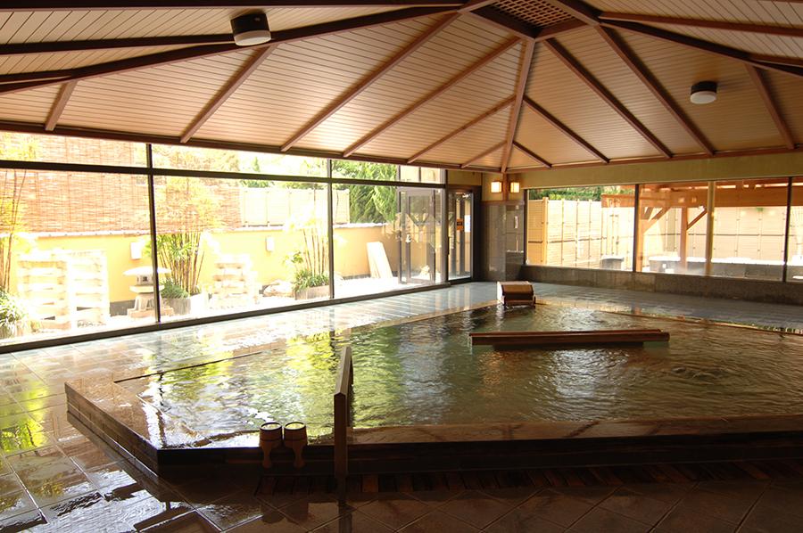 Public hot spring baths