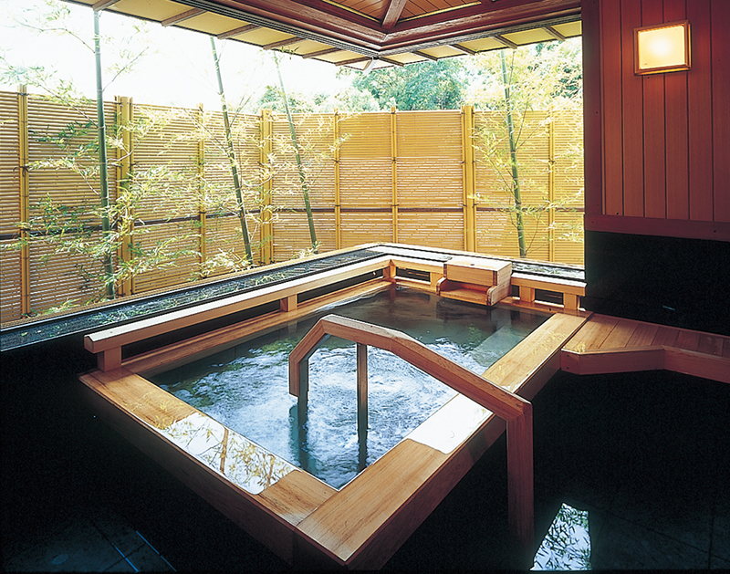 Private use hot spring baths