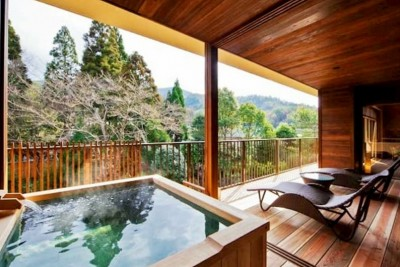Feature: Rooms with private open-air baths | SELECTED ONSEN RYOKAN | best in  japan, private hot spring hotel, open air bath, luxury stay